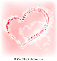 Valentine's Day heart. Vector Illustration. - The...