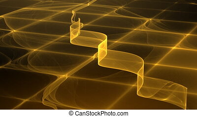 yellow motion background