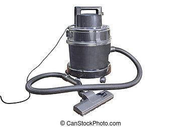 vacuum cleaner - Image of vacuum cleaner under the white...
