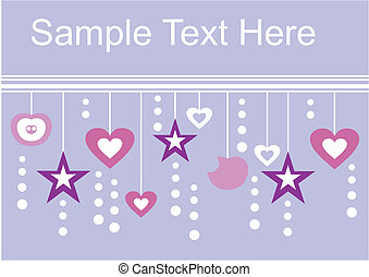 Holiday textspace in color - Vector Holiday textspace in...