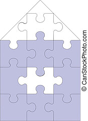 Abstract home puzzle 11