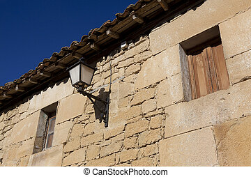 Architecture of Labastida, Alava, Spain