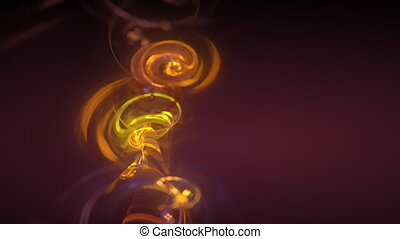 glowing rotated balls motion background d2827