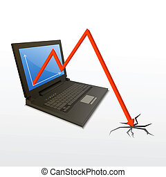 loss graph from computer