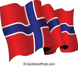 norway - national flag of norway