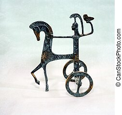 Chariot and rider - Chariot, Horse and Rider