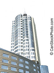 The modern architecture - The modern habitant building of...