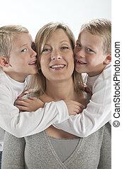 Feliz, mãe, Adquire, Abraços, beijos,...