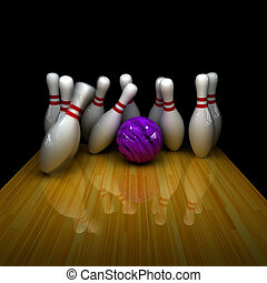 Purple ball does strike! - Orange ball does strike!...