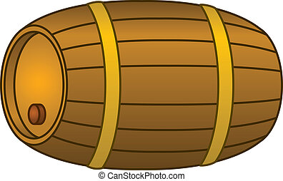 Barrel wood