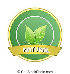 nature logo - illustration of nature logo
