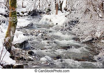 Inverno, riacho