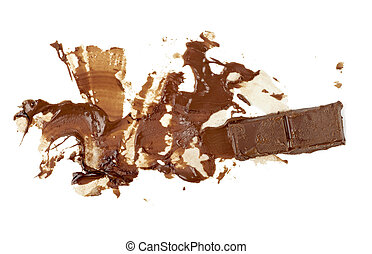 chocolate syrup leaking stain dirty sweet food