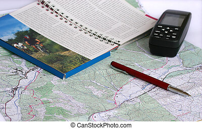 Planning the Adventure - Preparing the route with the help...