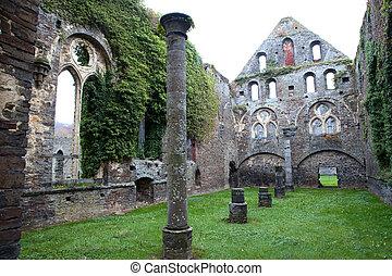 abbey ruins Villers la ville Belgium