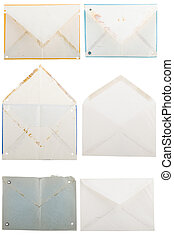 different shape from old envelopes