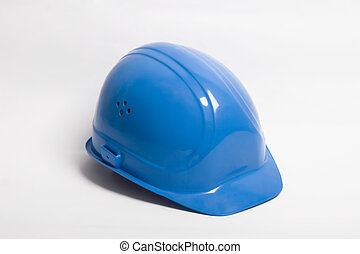 Hard hat - builder essential tool - Safety-gear on white