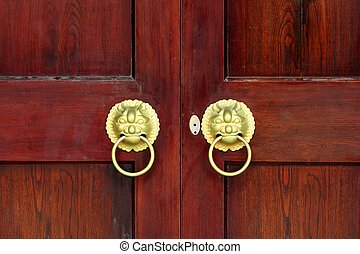 Oriental Palace's with door knocker