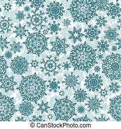 Light blue christmas seamless pattern. EPS 8