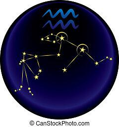 Zodiac Aquarius Sign