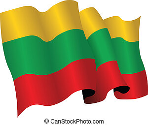 lithuania flag - national flag of lithuania