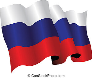 russia flag - national flag of russia