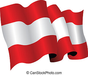 austria flag - national flag of austria