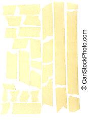 masking tape strips - Old grunge masking tape strips