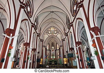 Sacred Heart Church in Pondicherry India