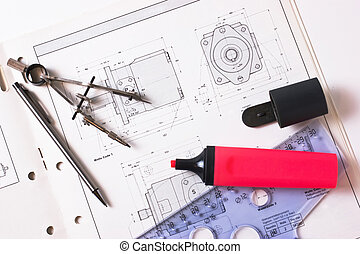 drawing tools in the workplace technologist