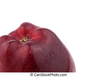 Tasty red apple