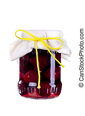 Marmelade Jam in a jar - Grandmothers Marmelade in a bottle...