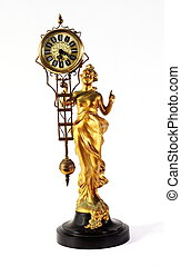 Antique Art Nouveau Mystery Clock - A genuine antique Art...