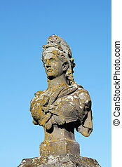 Marianne Symbol Of France - A granite carving from 1880...