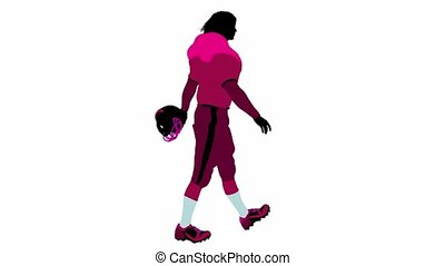 Female Football Player