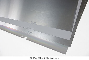 Offset plates - Plates for offset printing machine.