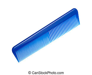 Comb isolated with a clipping path