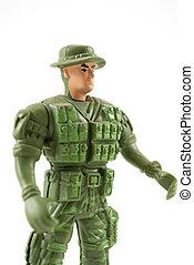 soldado, brinquedo
