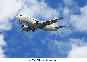 Passenger Jet Aeroplane - Jet aeroplane for passengers in a...