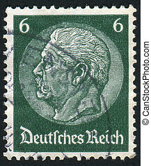 stamp - GERMANY - CIRCA 1932: stamp printed by Germany,...