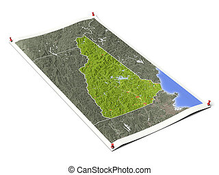 New Hampshire on unfolded map sheet. - New Hampshire on...