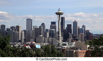Downtown Seattle Skyline with Space Needle