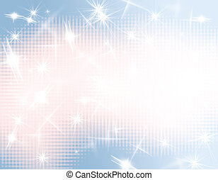Abstract blue light background - Abstract blue light and...