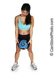 Fitness Attractive Filipino  Woman