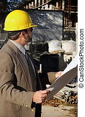 Construction Worker Foreman