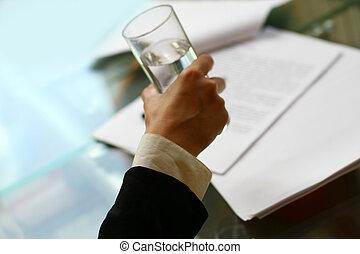 drink in office