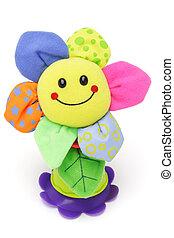 girassol, smiley, rosto, boneca