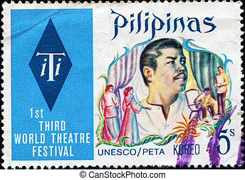 1st Third World Theatre Festival - PHILIPPINES - CIRCA 1973:...