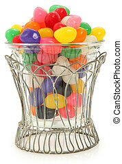 Decorative Bowl of Jelly Beans