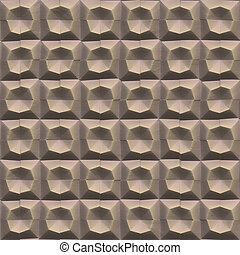 Abstract stone wall pattern - Seamless Wall tiled stones...